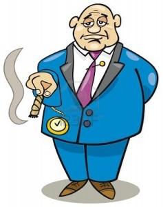 5782329-cartoon-rich-man
