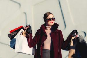 買い物女性